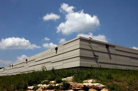Indiana University's new data center for Big Red II