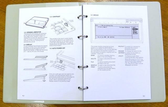 Thorn EMI Liberator Manual