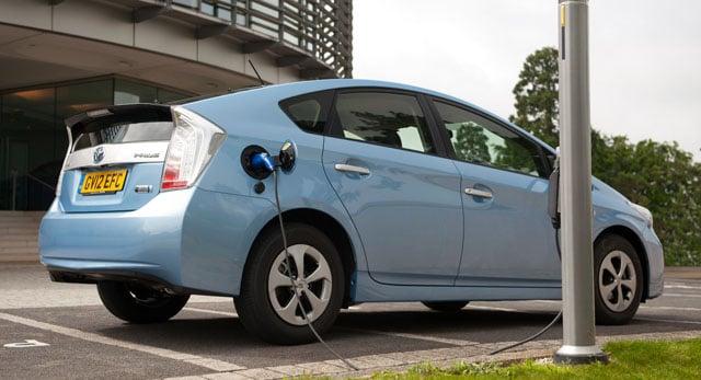 toyota prius plug in hybrid car