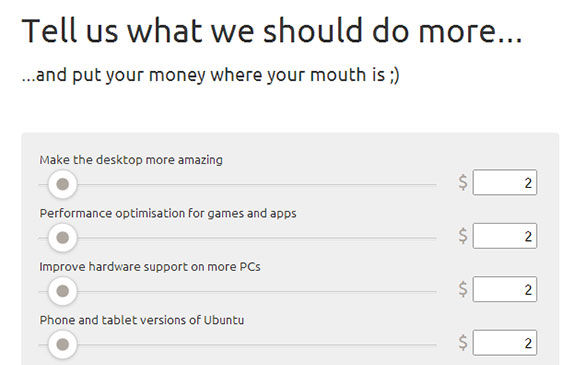 Partial screenshot of Ubuntu contribution page