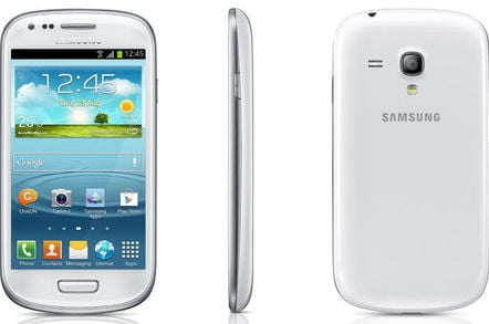Samsung states sales date for Galaxy S III Mini • The Register