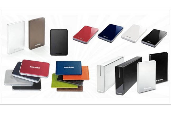 Toshiba external drives