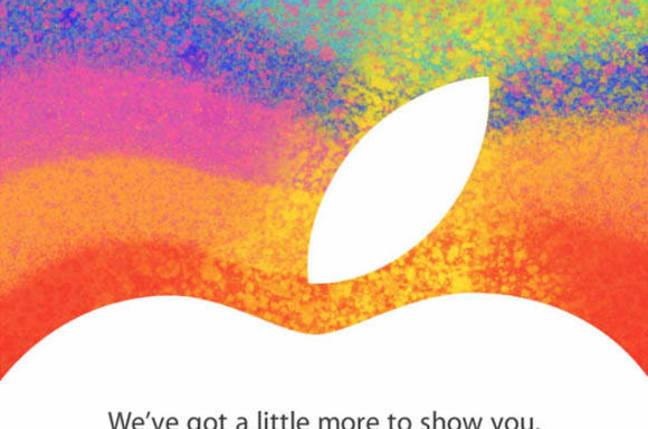 Invitation to Apple's October 23rd 'iPad mini' event