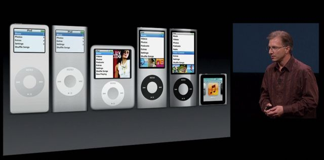 Apple iPod Nano series