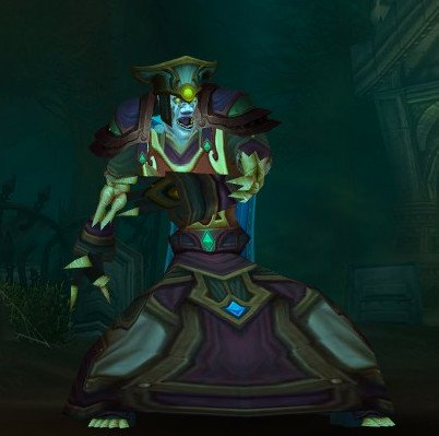 An undead destruction warlock in World of Warcraft, believed to be the alter ego of Camden Council's finance chief