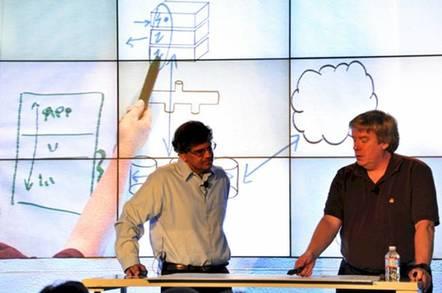 Jolly good former IBM Fellows, Jai Menon and Don Ferguson