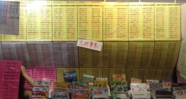 Sham Shui Po market Hong Kong mobile phone numbers