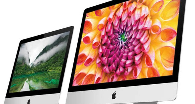 The new eighth-generation iMac family