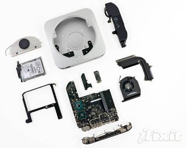Mac mini – all components