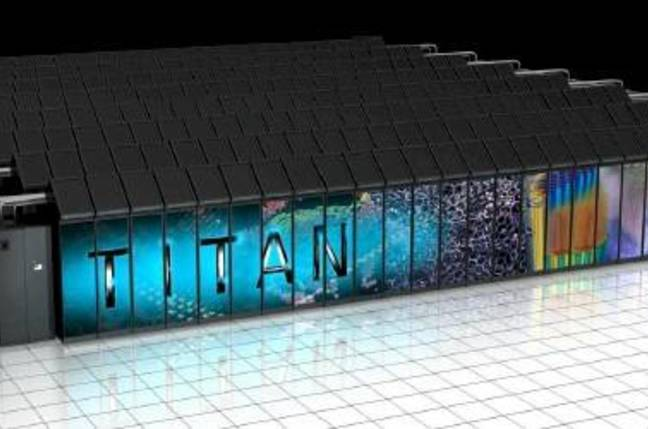 The Titan supercomputer at Oak Ridge