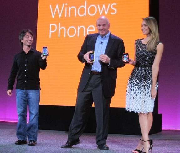 Ballmer Alba Phone8 launch