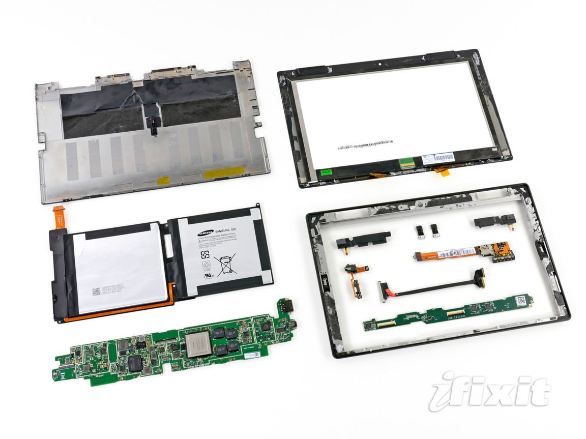 Microsoft Surface Popped Open Poked Prodded The Register Fuse Box Diagram For Chrysler Concorde Fully Disassembled