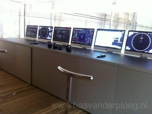 iMacs on the Venus bridge
