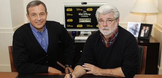 Disney and George Lucas