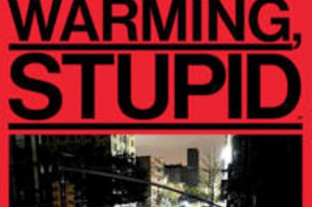 Bloomberg Businessweek cover: 'It's Global Warming, Stupid'