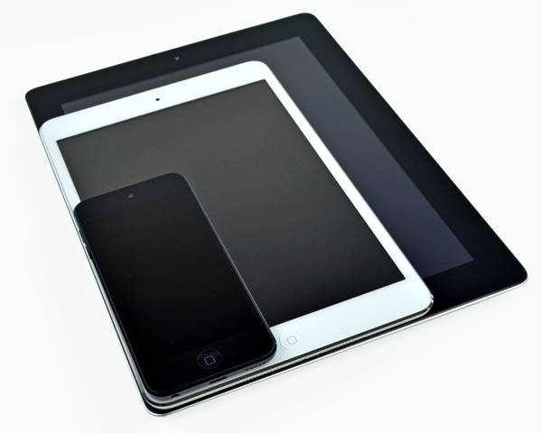 iPad, iPad mini, iPod touch