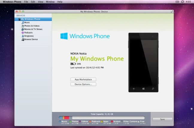 Windows Phone 3.0 for Mac