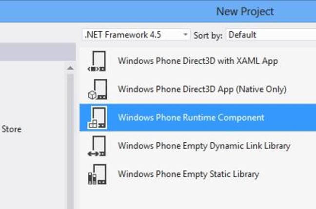 Windows RT native code options