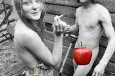 Danish hippies, photographed by Gregers Nielsen, from Peter Øvig Knudsen's book 'Hippies 2', censored for – and rejected by – Apple's iBookstore