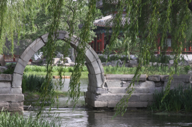Summer Palace, outside Tsinghua University. Pic by Bridget Coila, licensed under Creative Commons