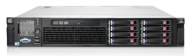 The rx2800 Itanium 9500 rack server