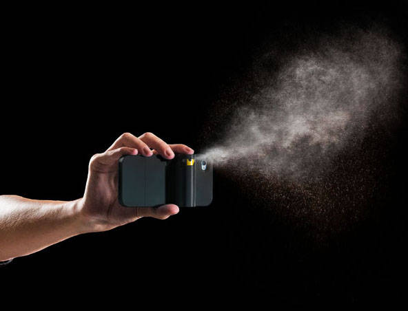 Spraytect pepper-spray iPhone case