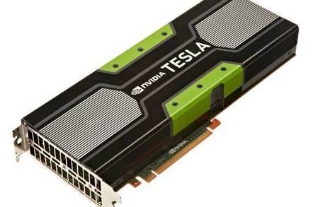 The Tesla K20 GPU coprocessor card