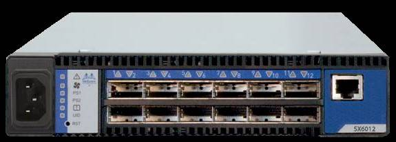 The baby sx6012 InfiniBand switch