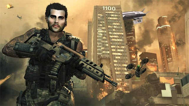 Black Ops 2 vs Mass Effect 2