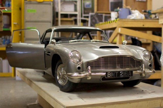 Skyfall DB5 model