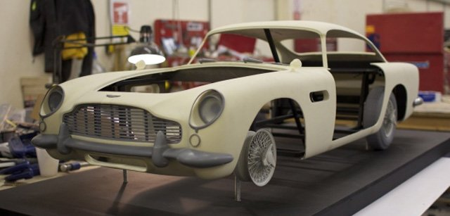 Skyfall makers 3D printed Bond's DB5 • The Register