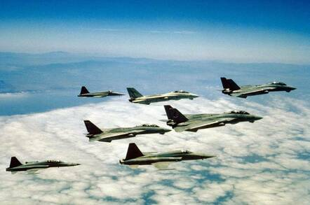 Topgun fighters