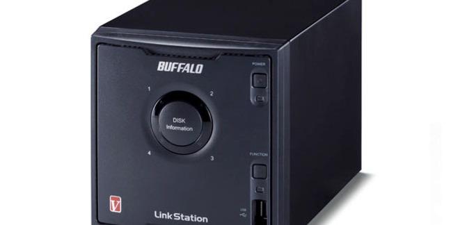 Buffalo LinkStation Pro Quad 4-bay NAS drive