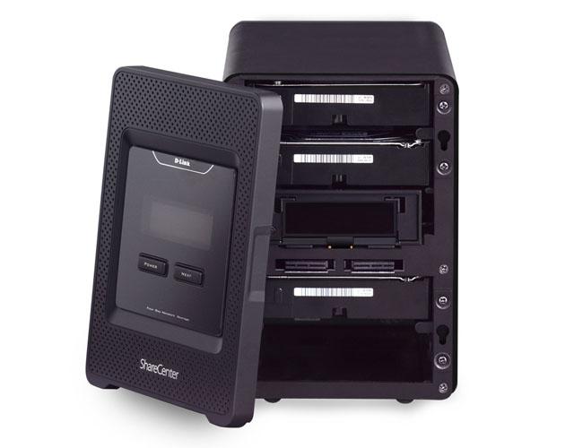 D-Link ShareCentre Quattro DNS-345 4-bay NAS drive