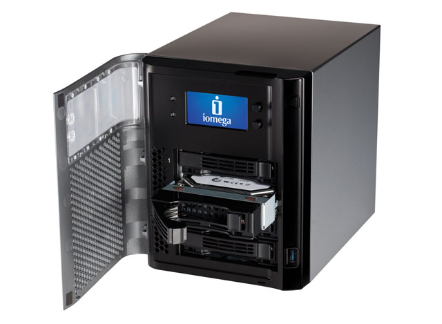 Iomega StorCenter PX4-300D 4-bay NAS drive