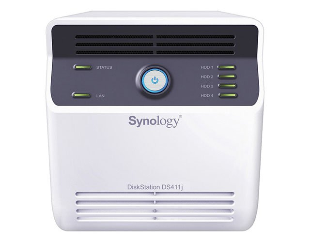 Synology DiskStation DS411j 4-bay NAS drive