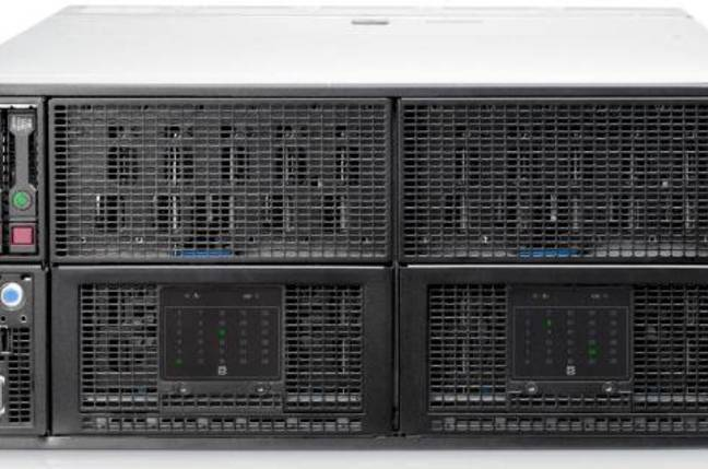 The new HP SL4500 big data server