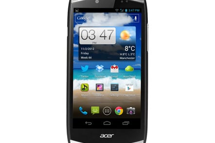 Acer CloudMobile S500 Android smartphone