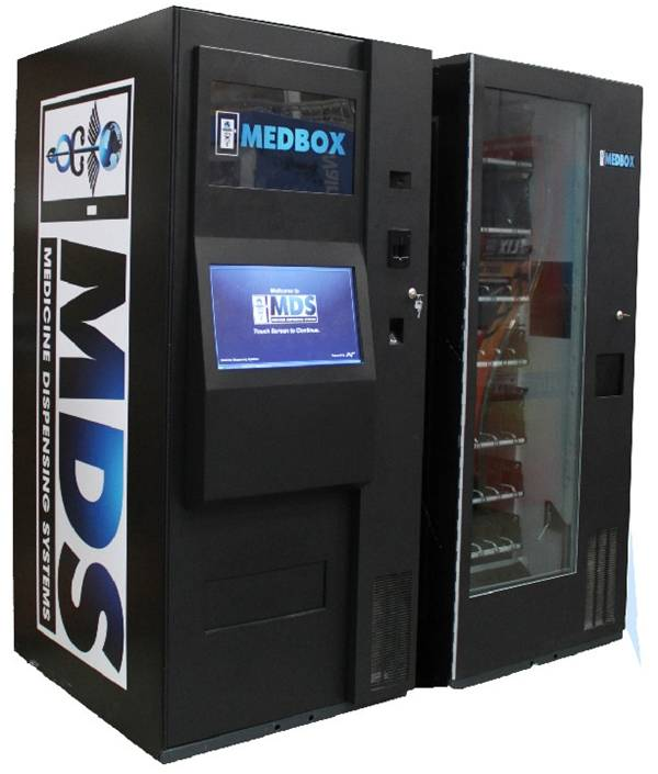 Medbox marijuana dispensing machine