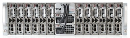 The Carma Cluster microserver chassis can do just ARMs, or ARMs plus GPUs