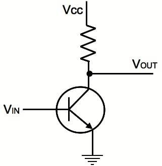 Simple Transistor schematic
