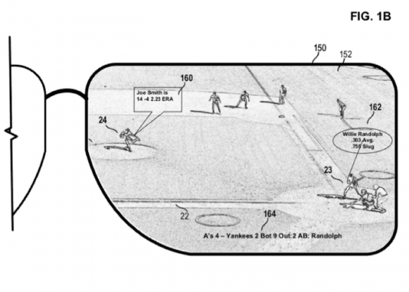 "Microsoft's propose ""head-mounted display"""
