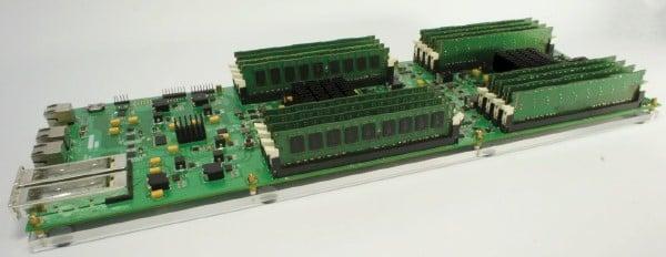 A memory-intensive X-Gene server prototype