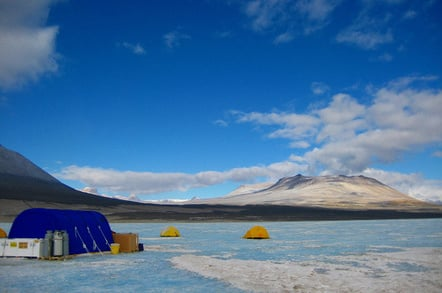 Lake Vida in Antarctica