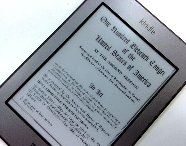 Dodd-Frank Act on Kindle
