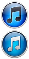 Icons for iTunes 10 and iTunes 11