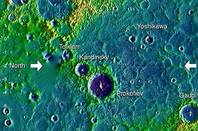 Mercury North pole