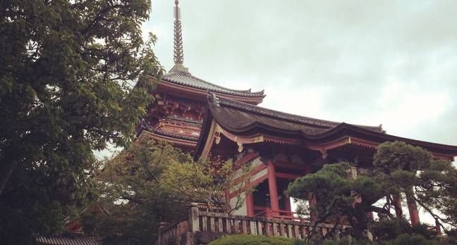 Kiyomizudera Temple Kyoto Japan