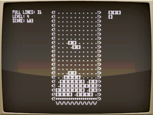 The original Tetris of 1984