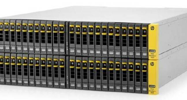 The HP 3PAR StorServ 7000 series arrays